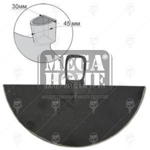 Нитована мотика с отвор за дръжка  Valbg 700гр