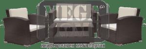 Градински комплект BF-1199-0065 кафяв