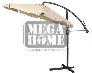 Градински чадър на метална стойка D - 040