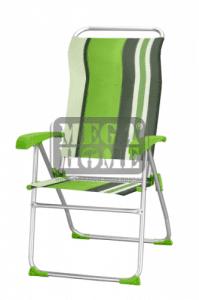Къмпинг стол зелен HG 40166BT