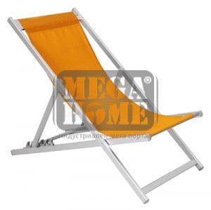 Плажен стол оранжев 40416TC