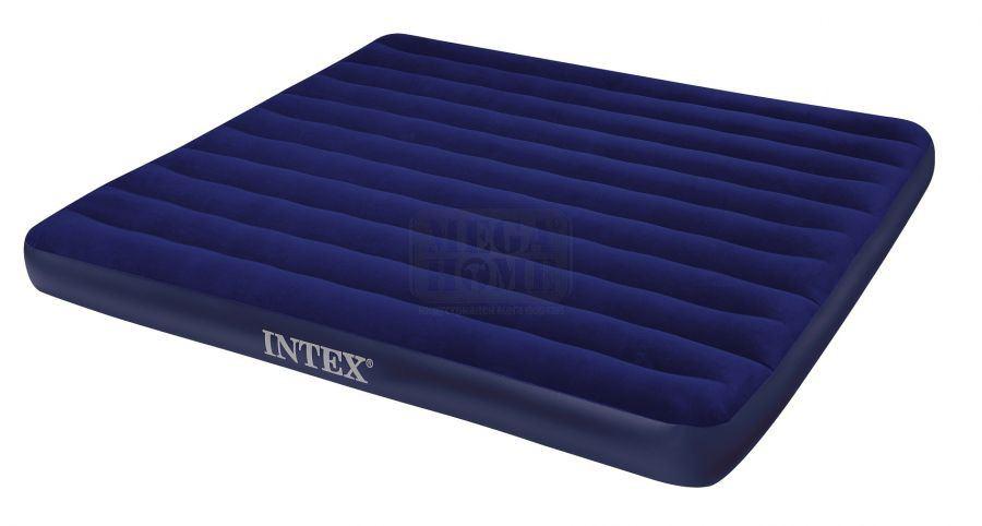 надуваеми матраци интекс Двоен надуваем матрак Дауни Intex   Цена   Продажба надуваеми матраци интекс