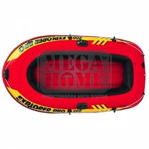 Надуваема лодка  Explorer Pro 200 без гребла Intex