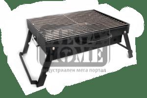 Сгъваемо барбекю на дървени въглища