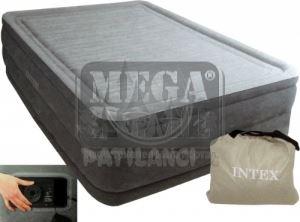Надуваем матрак Intex 152х203х56 см