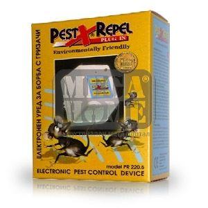 Ултразвуков електронен уред за борба с гризачи Pest-X-Repel