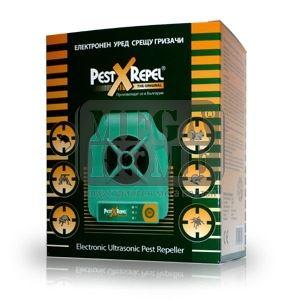 Ултразвуков електронен уред за борба с гризачи и диви животни