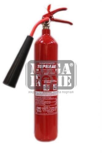 Пожарогасител CO2 - 2 кг.