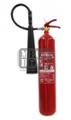 Пожарогасител CO2 - 5 кг.
