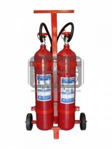 Пожарогасител CO2 - 2 х 5 кг.