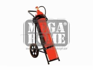 Пожарогасител CO2 - 30 кг. на количка
