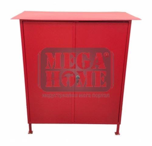 Пожарен шкаф червен /външен/