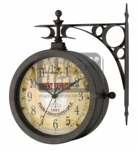 Стенен часовник с термометър НОСТАЛГИЯ