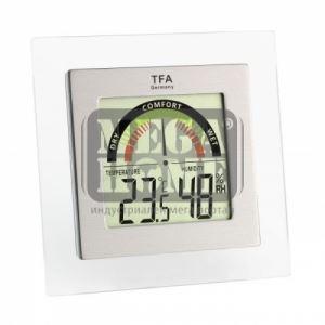 Дигитален термометър с хидрометър и цветна индикация