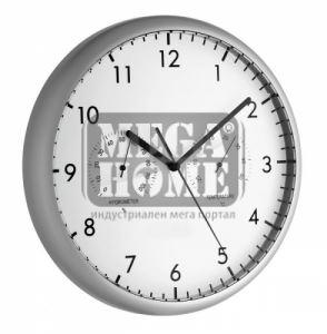 Стенен часовник с термометър и хидрометър