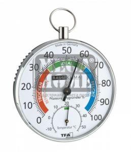 Биметален термометър с хидрометър