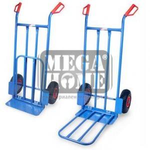 Багажна количка със сгъваем плот 250 кг ERBA