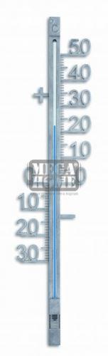 Стенен термометър 428 мм сребрист