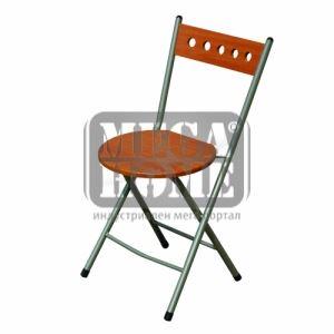 Сгъваем стол в черешов цвят