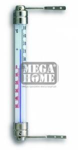 Термометър с метални крачета за прозорец