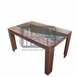 Холна маса с черно стъкло