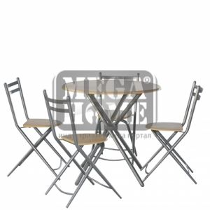 Маса с 4 стола