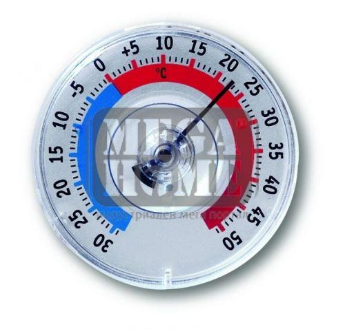 Термометър за прозорец Ф80 мм