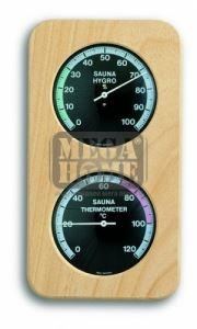 Термометър с хидрометър за сауна
