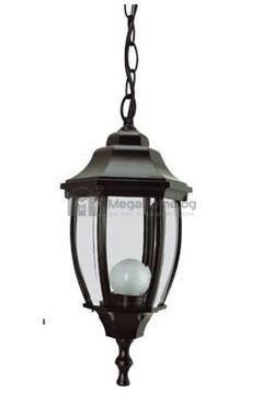 Висящ фенер черен 165 мм