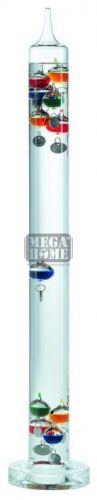 Течностен термометър със сребристи градусни плочки