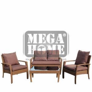 Градинска маса с два стола и диван Samui KD