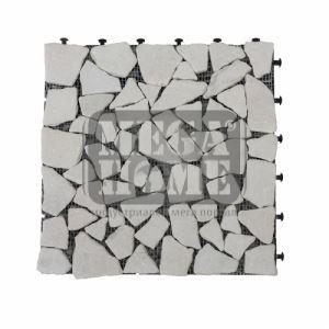 Мозаечни плочки върху пластмасова рамка