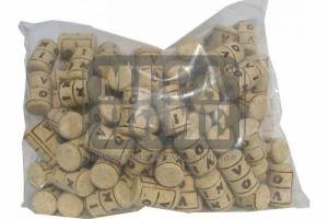Агломерирани коркови тапи 24 х 38 мм 100 бр