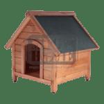 Кафява къща за куче XL