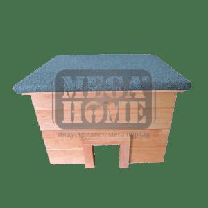 Къща за таралежи кафява