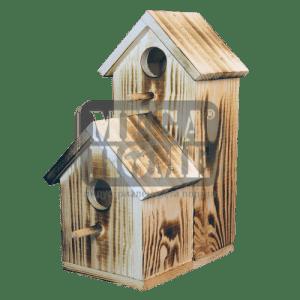 Двойна къща за птици