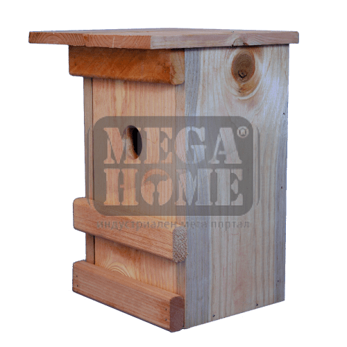 Къща за птици 170х170х250 мм