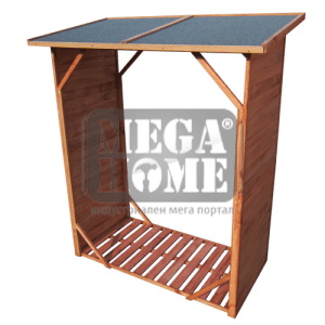 Стелаж за дърва и брикети