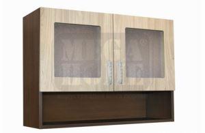 Кухненски шкаф с витрина и ниша 80 см PB