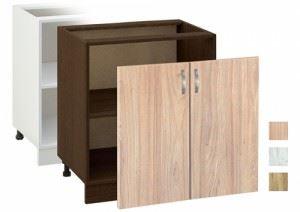 Кухненски шкаф с две врати 80 см