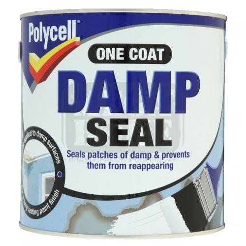 Грунд против влага Polycell Damp Seal 1 л