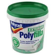 Екстериорна паста Polycell Exterior Polyfilla 1 кг