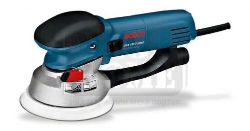 Ексцентършлайф Bosch GEX 150 Turbo Professional
