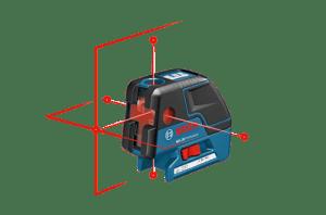 Комбиниран точков и линеен лазер Bosch GCL 25 C