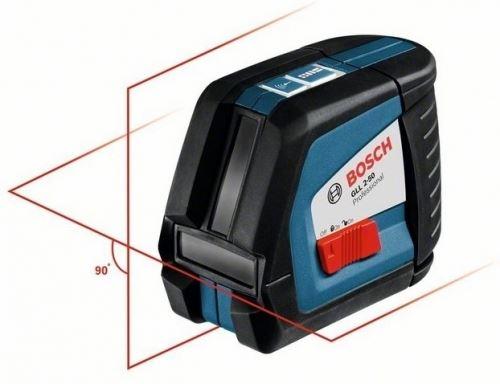Линеен лазер с приемник Bosch GLL 2-50