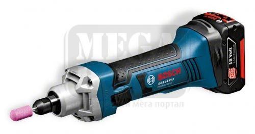 Акумулаторен прав шлайф Bosch GGS 18 V-LI Professional