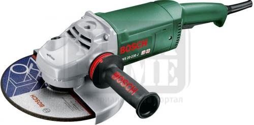 Ъглошлайф Bosch PWS 20-230 J 2000 W 230 мм