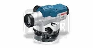 Оптичен нивелир Bosch с работен обхват до 100 м, 400 градуса