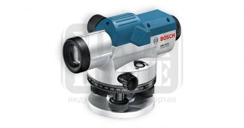 Оптичен нивелир Bosch с работен обхват до 120 м, 400 градуса