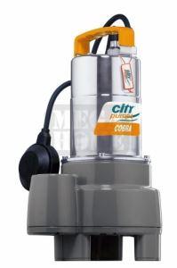 Дренажна помпа CITY COBRA 90M Q: 1.5 - 18.0 m³/h, 25 - 300 л/мин
